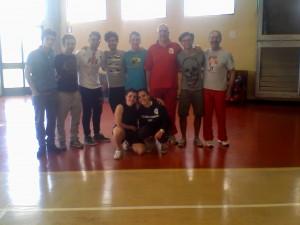 La squadra di Karate ai CNU MIlano 2014