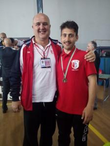 Salvatore Cioce Medaglia di Bronzo a Salsomaggiore - CNU 2015