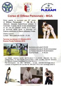 M.G.A. - Difesa Personale XI Corso